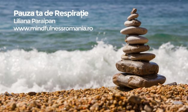 Meditație ghidată – Pauza ta de respirație, 3 min